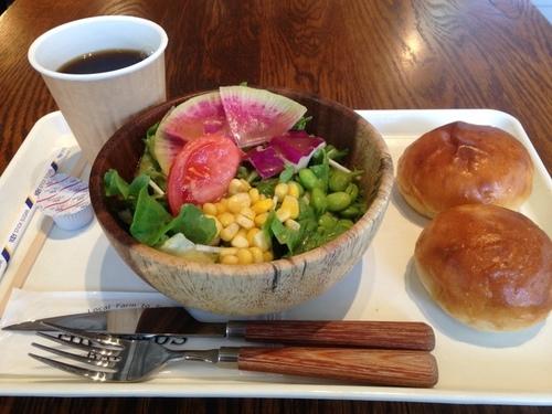 朝のサラダセット
