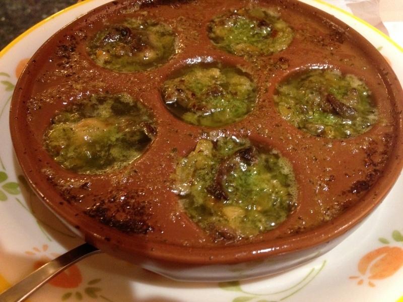 エスカルゴのオーブン焼き